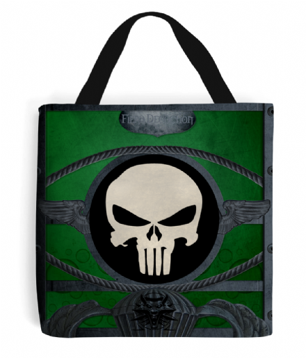 Printed Tote Bag With Fiend Decoction Design Inspired by The Witcher